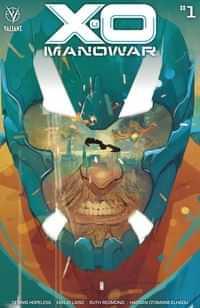 X-O Manowar #1 Cvr A Ward