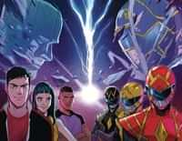 Go Go Power Rangers #32 CVR C Wraparound Foil