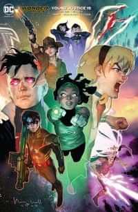 Young Justice #15 CVR B Ben Caldwell