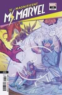 Magnificent Ms Marvel #13 Second Printing Vazquez