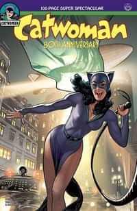 Catwoman 80th Anniversary 100 Page Super Spectacular CVR B 1940s Adam Hughe