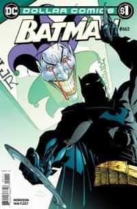 DC Dollar Comics Batman #663