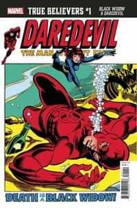 True Believers One-Shot Black Widow and Daredevil