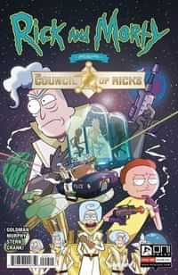 Rick And Morty Presents One-Shot Council Of Ricks CVR A Murphy
