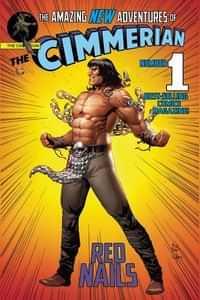 Cimmerian Red Nails #1 CVR E Casas Superman Parody