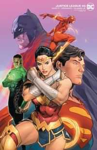 Justice League #46 CVR B Mann