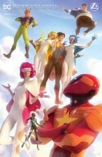 Legion of Super Heroes #6 CVR B Cardstock Garner