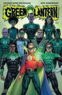 Green Lantern 80th Anniversary 100 Page Super Spectacular CVR B 1940s