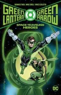 Green Lantern Green Arrow HC Space Traveling Heroes