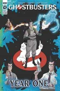 Ghostbusters Year One #4 CVR A Shoening