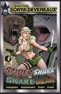 Starring Sonya Devereaux Spidershark Snakebear CVR A