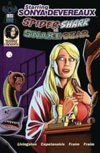 Starring Sonya Devereaux Spidershark Snakebear CVR B