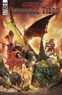 Dungeons and Dragons Infernal Tides #4 CVR A Dunbar