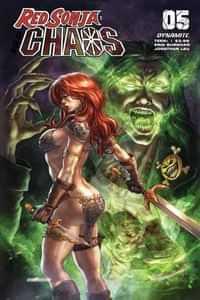 Red Sonja Age Of Chaos #5 CVR B Quah