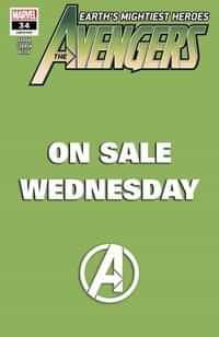 Avengers #34 Variant Marvel Wednesday