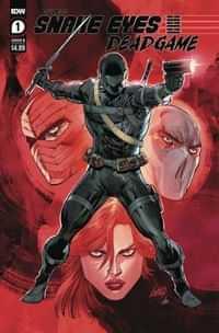 Snake Eyes Deadgame #1 CVR B Liefeld