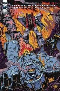Transformers 84 Secrets and Lies #1 CVR A Guidi