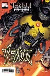 Venom #26 (First Appearance Virus)