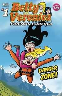 Betty and veronica Friends Forever Danger Zone #1