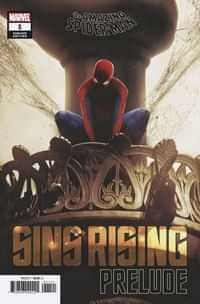 Amazing Spider-man Sins Rising Prelude #1 Variant Boss Logic