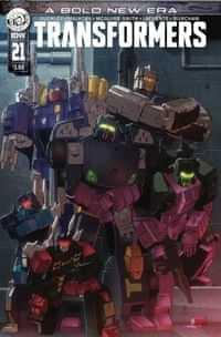 Transformers #21 CVR A Coller