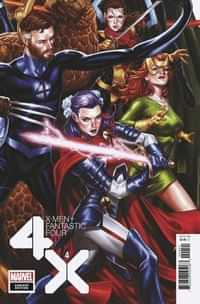 X-men Fantastic Four #4 Variant Brooks Connecting