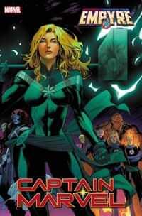 Captain Marvel #18 Variant Mora Empyre