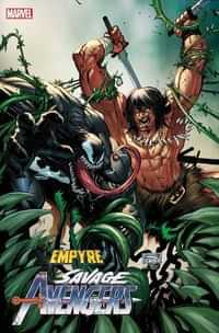 Empyre Savage Avengers #1 Variant Sandoval