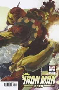 Iron Man 2020 #5 Variant Bianchi Connecting