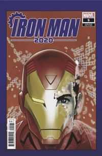 Iron Man 2020 #5 Variant Superlog Heads