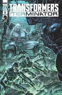 Transformers Vs Terminator #3 Variant 10 Copy Williams