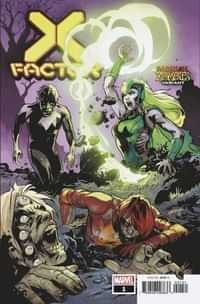 X-factor #1 Variant Lupacchino Marvel Zombies