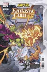 Fantastic Four #22 Variant Coello Empyre