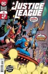 Justice League #50 CVR A Mahnke
