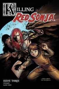 Killing Red Sonja #3 CVR B Gedeon Homage