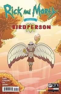 Rick and Morty Presents One-Shot Birdperson CVR A Stressing