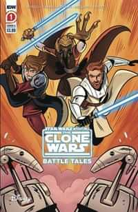 Star Wars Adventures Clone Wars #1 Second Printing
