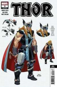 Thor #3 Third Printing Klein