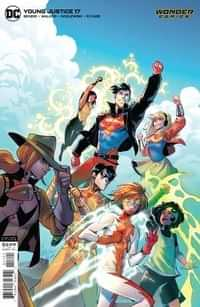 Young Justice #17 CVR B Andolfo