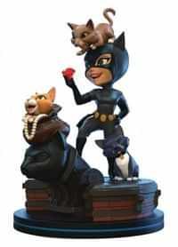 Q-Figure DC Batman Animate Catwoman Elite Diorama