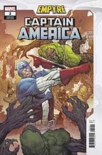 Empyre Captain America #2 Variant Luke Ross