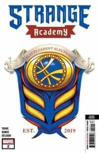 Strange Academy #2 Second Printing