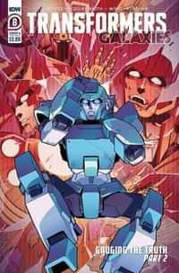Transformers Galaxies #8 CVR A Miyao