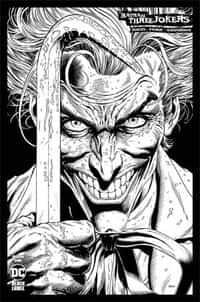 Batman Three Jokers #1 Variant 100 Copy Jason Fabok BW