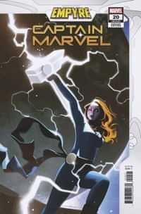Captain Marvel #20 Variant Dekal Empyre