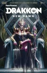 Power Rangers Drakkon New Dawn #1 CVR A Secret