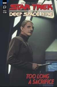 Star Trek Ds9 Too Long A Sacrifice #2 CVR B Photo