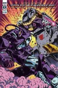 Transformers 84 Secrets and Lies #2 CVR A Guidi