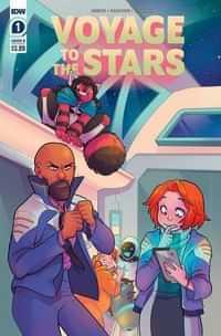 Voyage To The Stars #1 CVR B Daidone