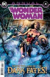 Wonder Woman Annual #4 (Possible First Appearance Yara Flor)